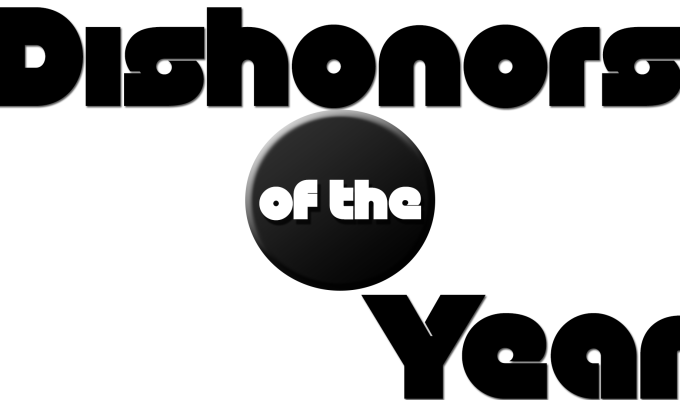 Dishonors of the Year