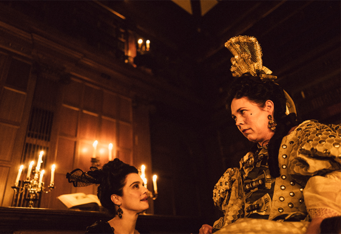 The Favourite Olivia Colman Rachel Weisz