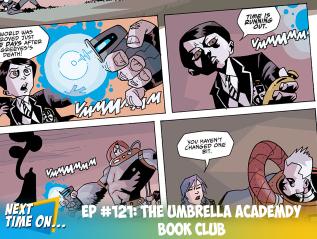 EP #121: The Umbrella Academy BookClub