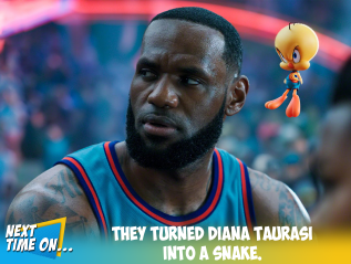 They Turned Diana Taurasi into aSnake.