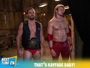 That's Kayfabe Baby!