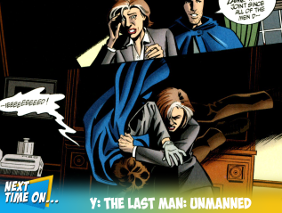 Y: The Last Man:Unmanned